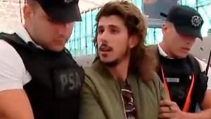 Rodrigo Eguillor pasó la Navidad preso