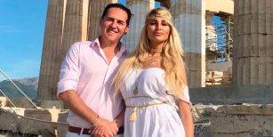Tras el escándalo con su marido, Vicky Xipolitakis piensa en el divorcio