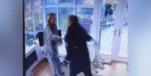 Un hombre golpeó y dejó inconsciente a su ex mujer embarazada