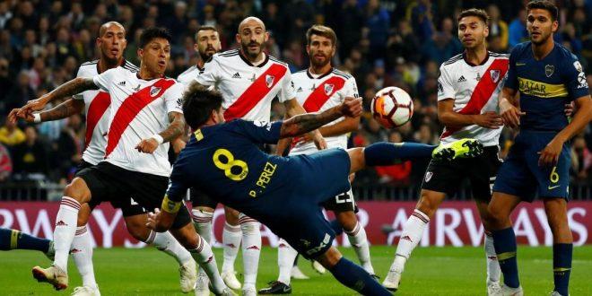 Boca le gana a River en la Superfinal de la Copa Libertadores