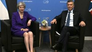 Reunión de Macri con May: encuentro histórico tras la Guerra de Malvinas