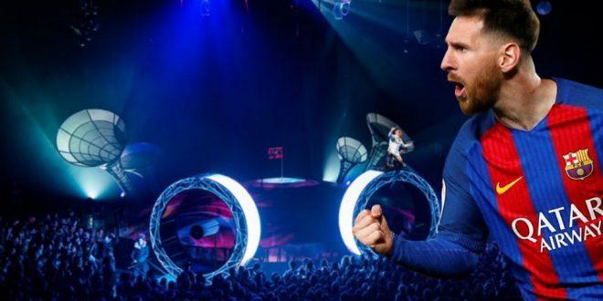 El Cirque Du Soleil llega con el nuevo espectáculo de Leo Messi
