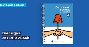 CONSTITUCIÓN NACIONAL ARGENTINA EN PDF DE LECTURA FÁCIL