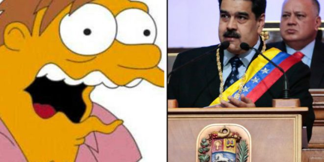 Video : El eructo de Maduro en pleno discurso