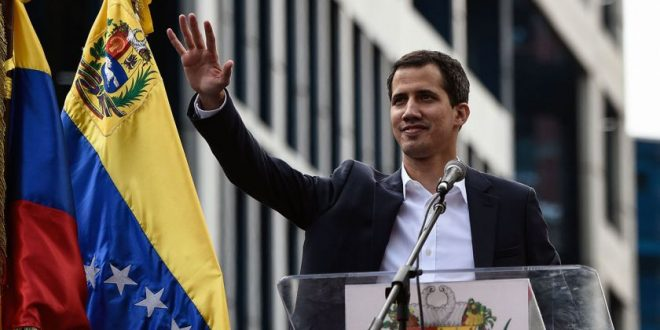 Video en vivo : Habla Juan Guaidó, presidente interino de Venezuela