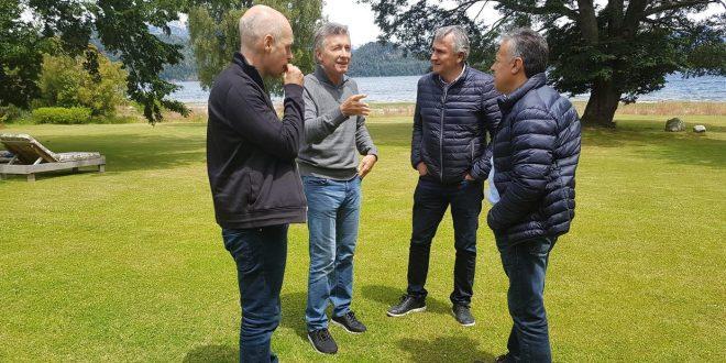 Macri recibió a Rodríguez Larreta, y a los gobernadores de Jujuy y Mendoza