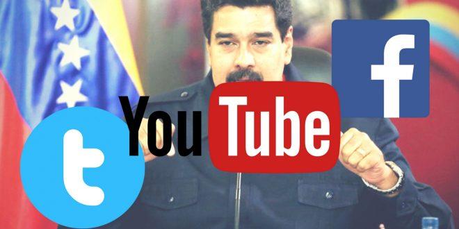 Maduro bloqueó el acceso a las redes sociales en Venezuela