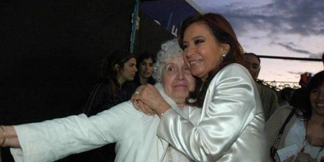 Internaron a la madre de Cristina Kirchner