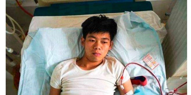 Vendió un riñón para comprarse un iPhone pero todo salió mal y quedó discapacitado de por vida
