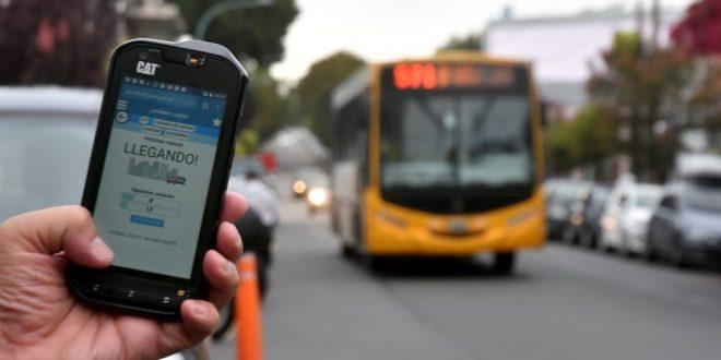 Se podrá saber a qué hora llegará el colectivo a la parada con una app