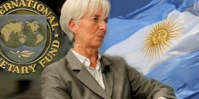 La encomía argentina caerá un 1,7% durante 2019 y crecerá en el 2020, según el FMI