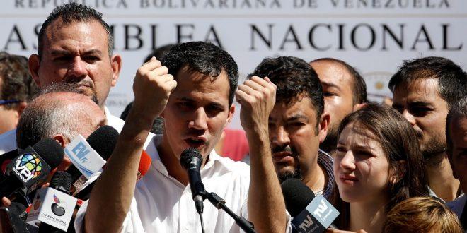 Juan Guaidó : El chavismo ya no tiene control sobre las Fuerzas Armadas