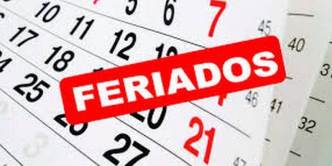 Cronograma de feriados 2019 en Argentina