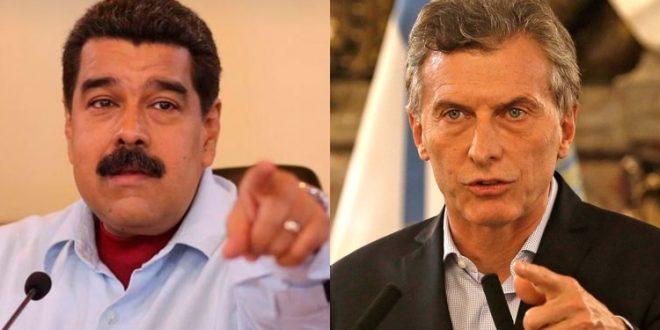 Macri : Los venezolanos y el mundo saben que Maduro es un dictador