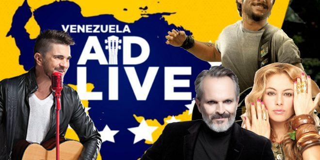 """Diego Torres emocionó en el concierto """"Venezuela Aid Live"""""""