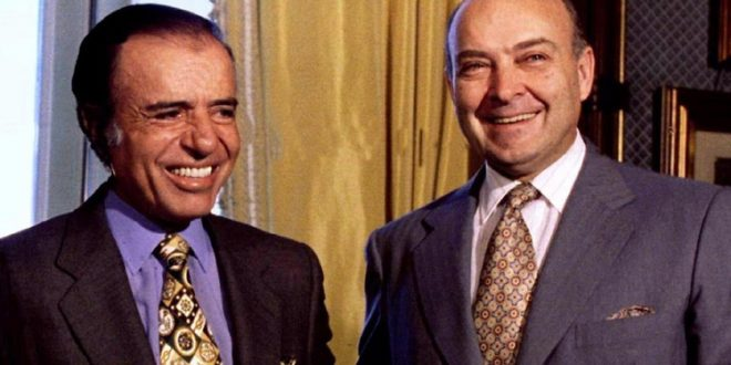Carlos Menem y Domingo Cavallo, condenados a más de 3 años de prisión por la venta de La Rural