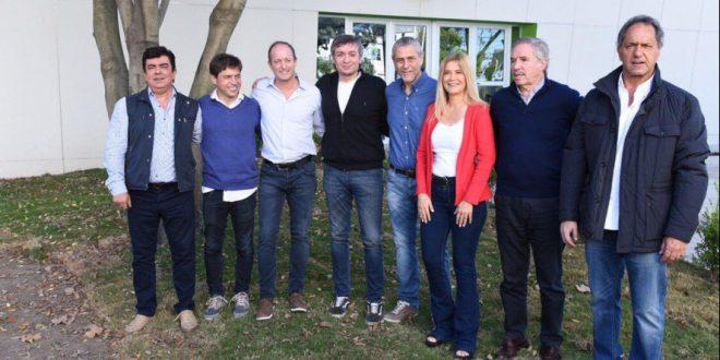 El PJ bonaerense se mostró unido en Avellaneda