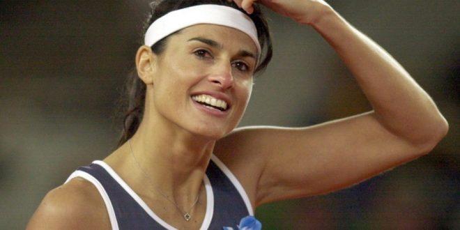 Gabriela Sabatini recibe el premio más importante del tenis mundial