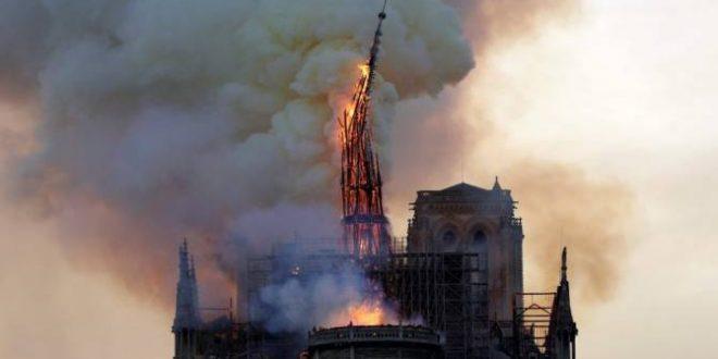 Esta es la posible causa del incendio en Notre Dame