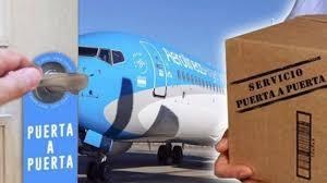 """Como funciona el """"puerta a puerta"""" de Aerolineas Argentinas para compras en el exterior"""