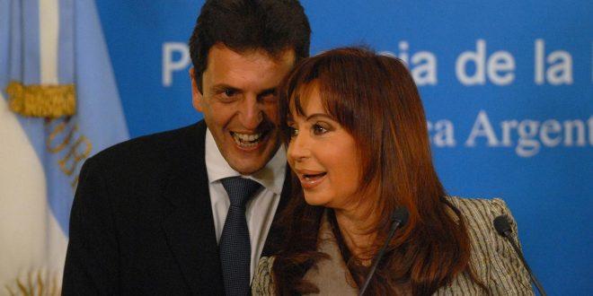 Sergio Massa ya habla de alianza con la formula de Cristina Kirchner
