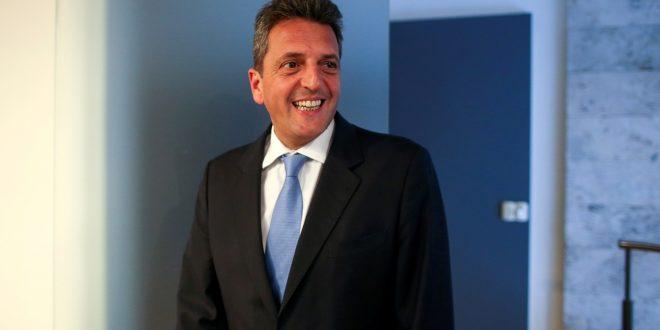 """Sergio Massa : """"Soy más candidato que ayer"""""""
