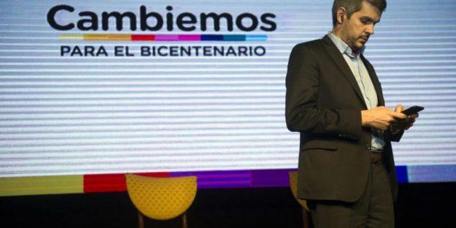 El WhatsApp que Marcos Peña le mandó a todo Cambiemos ni bien Cristina bajó su candidatura a presidente.
