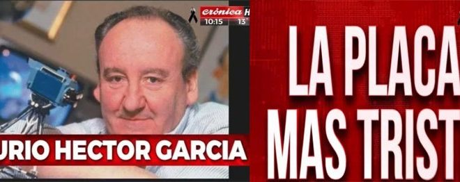 Murió Héctor Ricardo García, fundador de Crónica