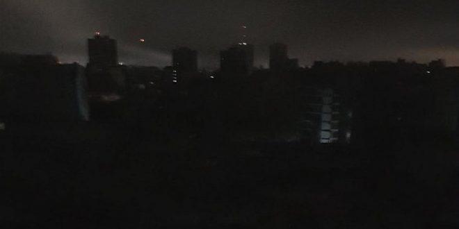 Argentina , Uruguay y parte de Brasil sin luz