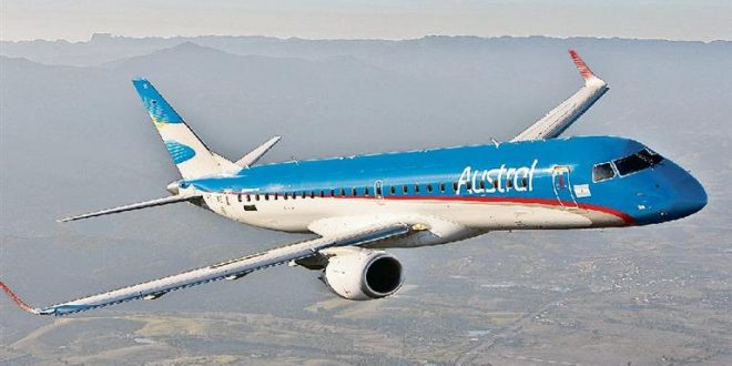 Austral fue la compañía más puntual en Argentina durante el segundo trimestre