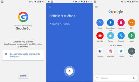 Google lanzó su aplicación móvil Google Go para los usuarios de todo el mundo.