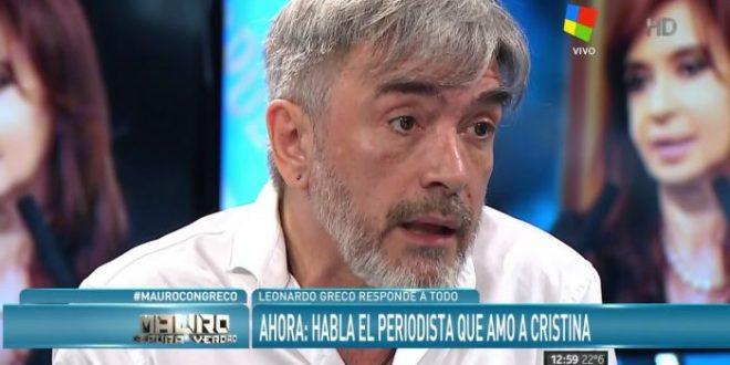 """El polémico video de Leonardo Greco : """"Vamos a volver"""""""
