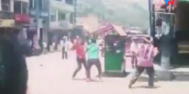 Dos hombres se mataron a puñaladas por una infidelidad en una brutal pelea en la calle