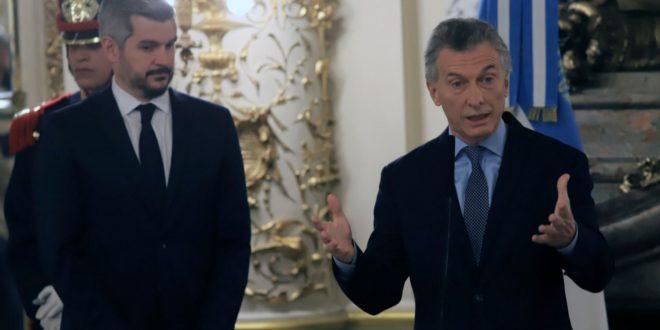 Macri confirmó que no habrá cambios en su gabinete y que habrá segunda vuelta.
