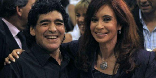 """Maradona: """"Me pasan factura por ser kirchnerista; ya falta poco para que volvamos"""""""