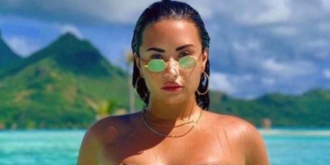 Demi Lovato posteó una foto con su mayor temor