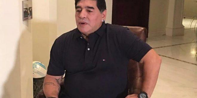 ¿Por qué Maradona no puede hablar bien?