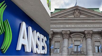 Banco Nación y Anses financian al Gobierno con $ 32.000 millones