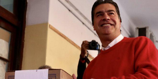 Jorge Capitanich ganó las elecciones en Chaco.