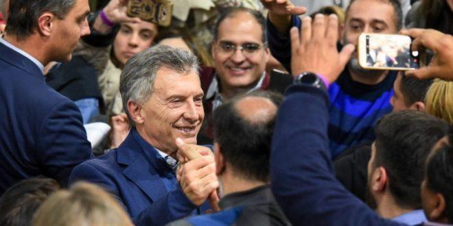 """Macri encabeza la """"Marcha del Sí, se puede"""" en Neuquén"""