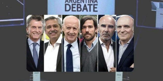VIDEO EN VIVO - #DebateAr2019 Primer Debate Presidencial
