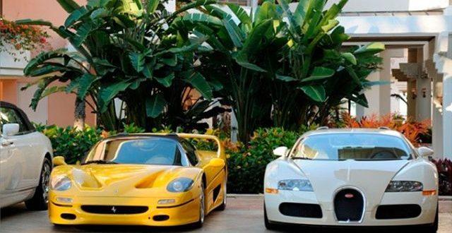 Los impresionantes autos de lujo del hijo de un dictador