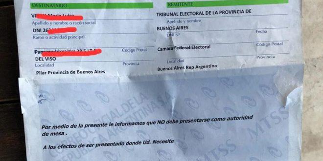Alertan por telegramas falsos en los que autoridades de mesa recibieron misivas en las que se les pedía no asistir a los comicios