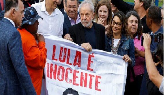 Lula da Silva quedó en libertad