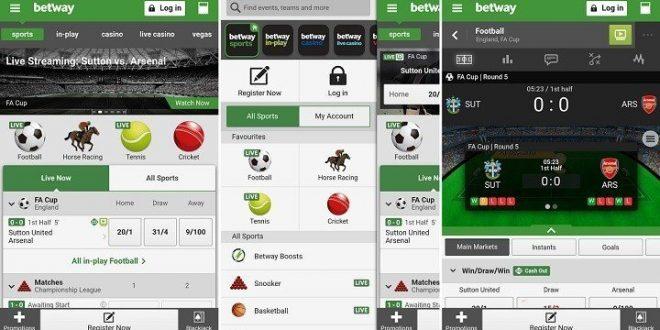 Las apuestas deportivas siguen evolucionando con Betway app
