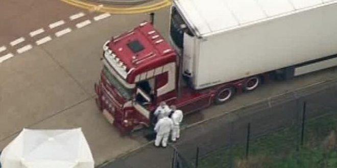 Abrieron el contenedor y hallaron más de sesenta cadáveres