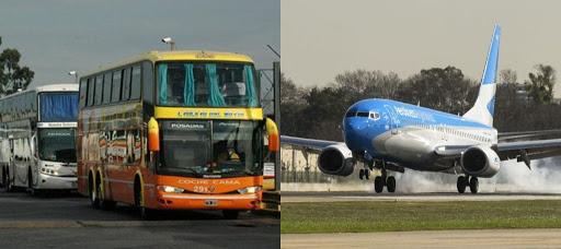 No habrá servicio de trenes y colectivos de larga distancia ni aviones de cabotaje el fin de semana largo