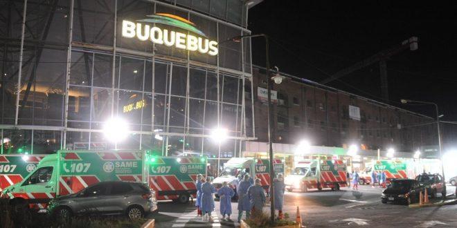 El joven que viajó enfermo en Buquebús podría recibir hasta 15 años de cárcel