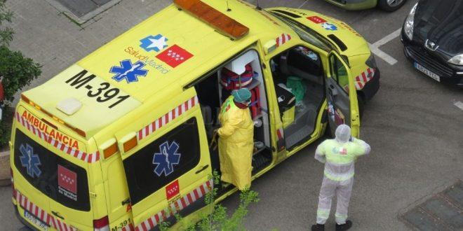 España registró más de 900 muertos en 24 horas
