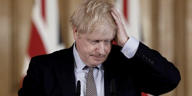 Boris Johnson fue internado en terapia intensiva